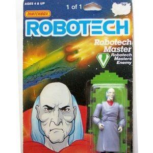 MATCHBOX ROBOTECH MASTER ENEMY ZENDRAEDY FIGURINE